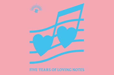 Antinote to release compilation, Five Years Of Loving Notes image