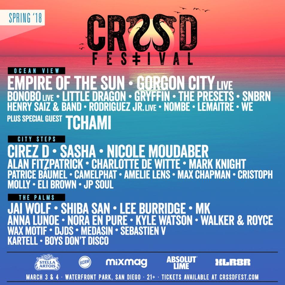 San Diego's CRSSD announces Spring 2018 lineup image
