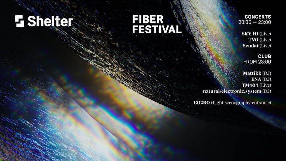 ENA, Sendai, TM404 billed for Amsterdam's FIBER Festival image