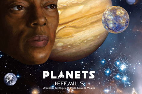 Full details emerge of Jeff Mills's new album, Planets image
