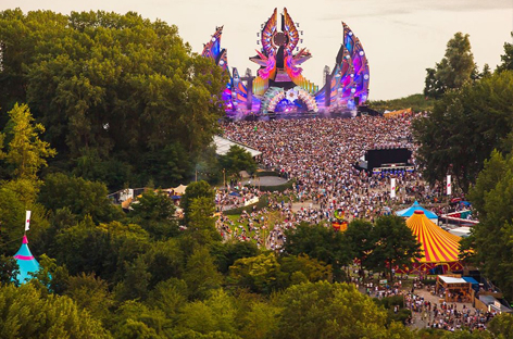The Red Cross tests the 'future of emergency aid' at Mysteryland 2017 image