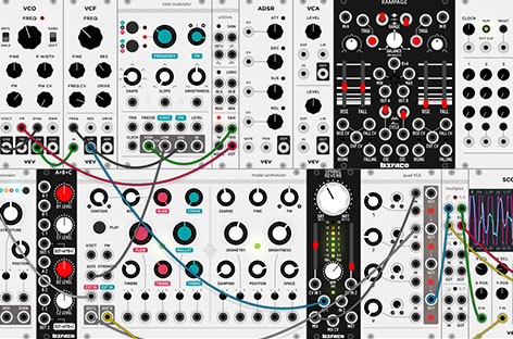 New open-source virtual modular synth available for free image