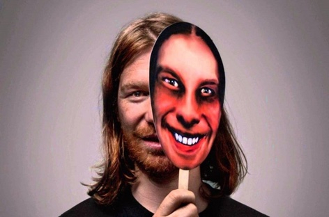 Mysterious Aphex Twin logo pops up at London tube station and in Turin image