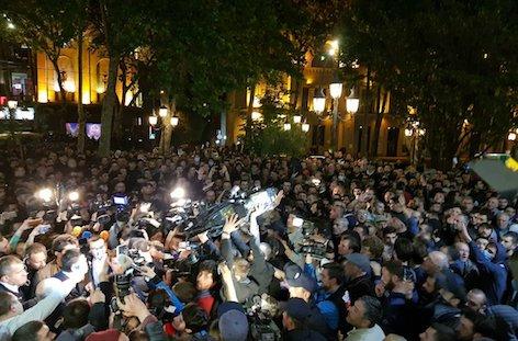 Georgia's Minister Of Internal Affairs apologises for police raids of Tbilisi clubs image