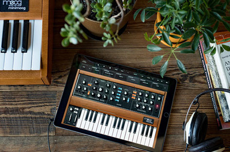 Moog releases Minimoog Model D app for iPhone and iPad image