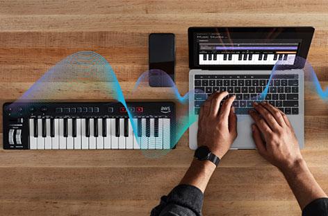 Amazon announces AI music-making tool, AWS DeepComposer image