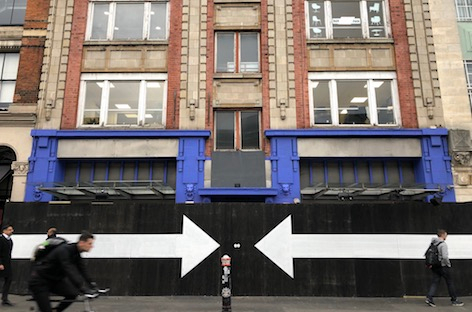 What's going on with fabric? London club wipes social media, boards up entrance in mysterious blackout image