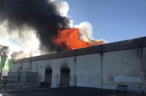 Apollo/Transco lacquer production facility burns down image