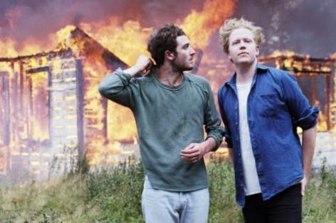 Nicolás Jaar and Dave Harrington release archival DARKSIDE live album image