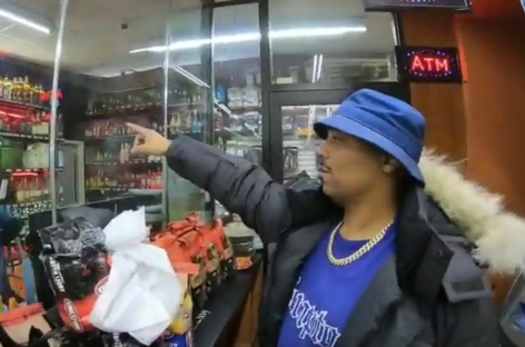Omar-S and John FM hit the party store in their new music video image