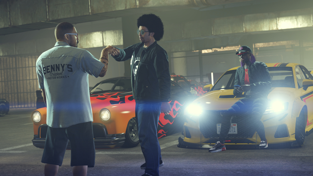 Moodymann is a fully-realized character in the latest Grand Theft Auto update image