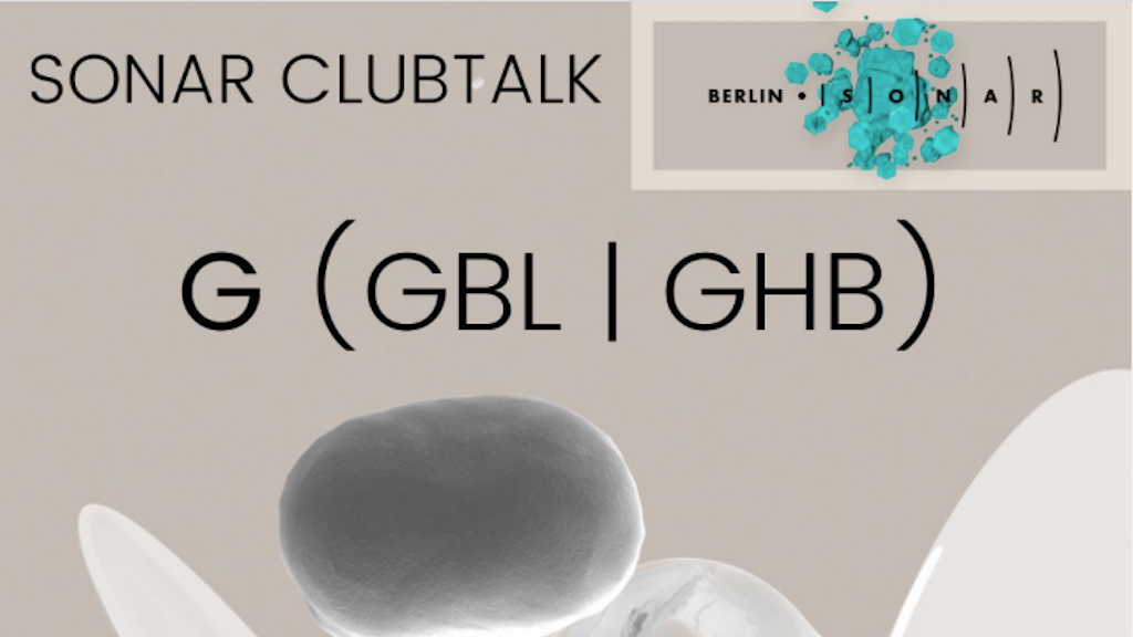 Berlin venue Suicide Club to host talk on GBL and GHB image