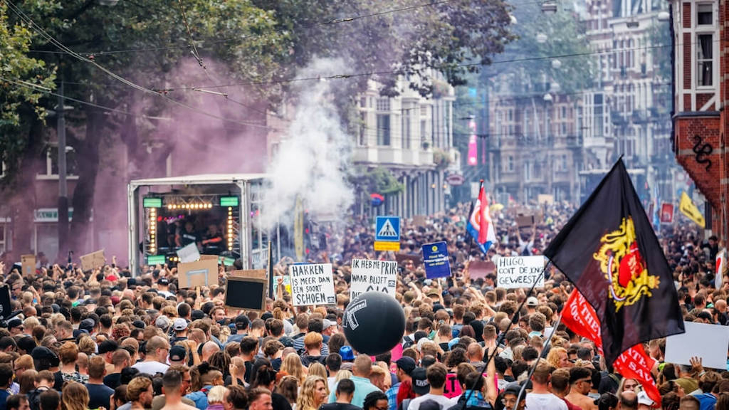 More Unmute Us! protests in the Netherlands draw estimated 150,000 people image