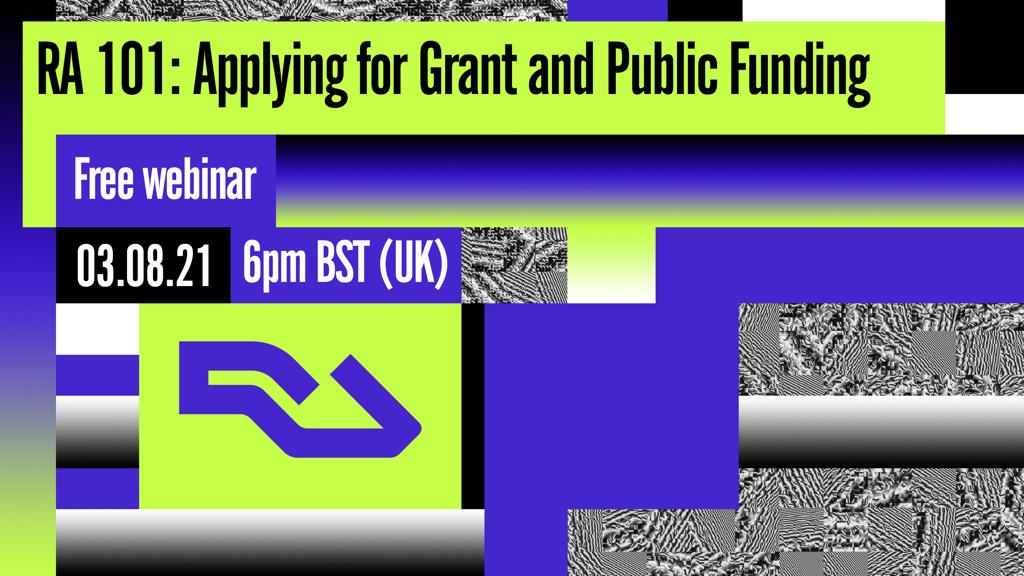 RA, NTES host free webinar on grants and public funding image